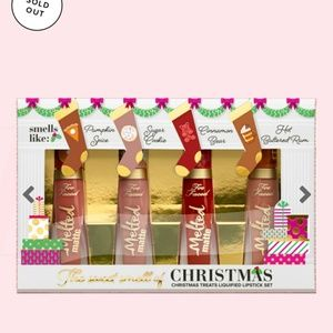 Too Faced Makeup - Too faced Holiday 2018 Christmas Lipsticks Set New